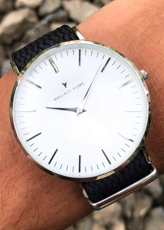 Wallace Hume Caviar Black wrist